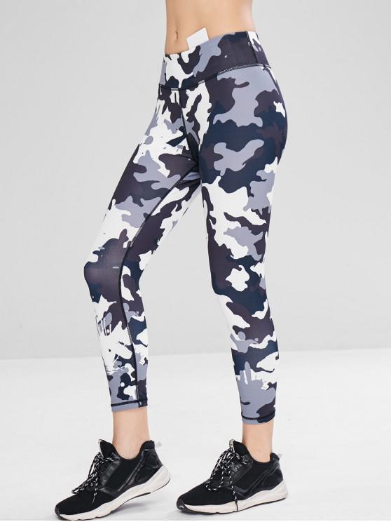 Leggings Sportivi Di Camo - ACU Camouflage M