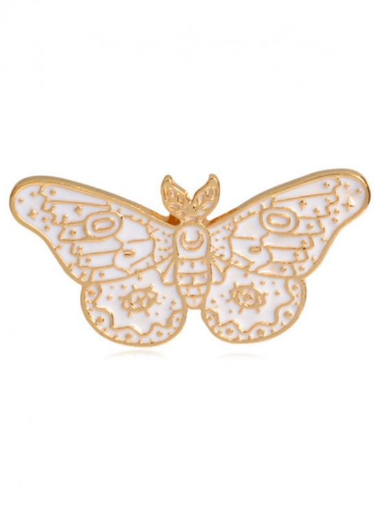 outfit Cartoon Butterfly Parrot Design Brooches - MULTI-B