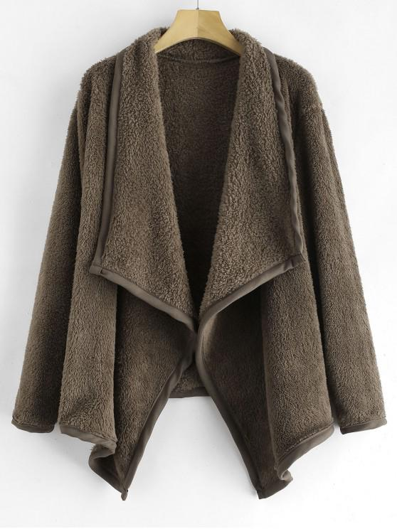 Casaco Soft Fleece Cachoeira - Caqui Escuro M