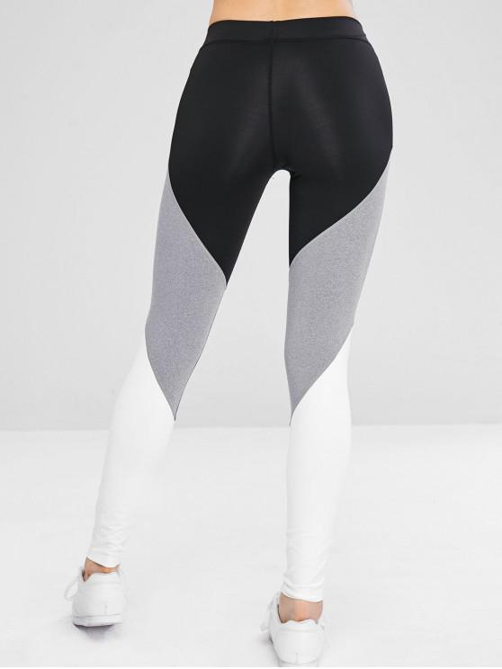 GymNoir Block Sport Athletic S Color Leggings De 5R3jL4A