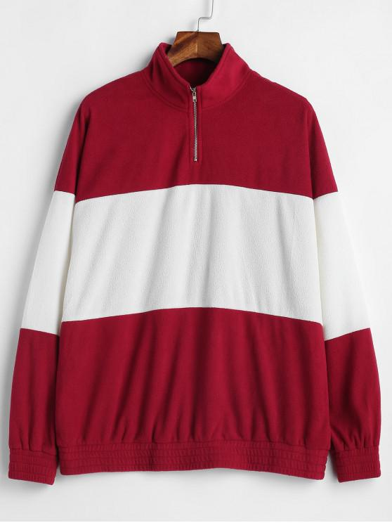Sudadera túnica ZAFUL Half Zip Two Tone - Multicolor L