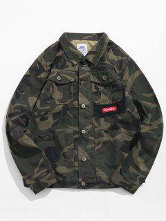 Veste Cargo Camouflage Applique - Acu Camouflage M