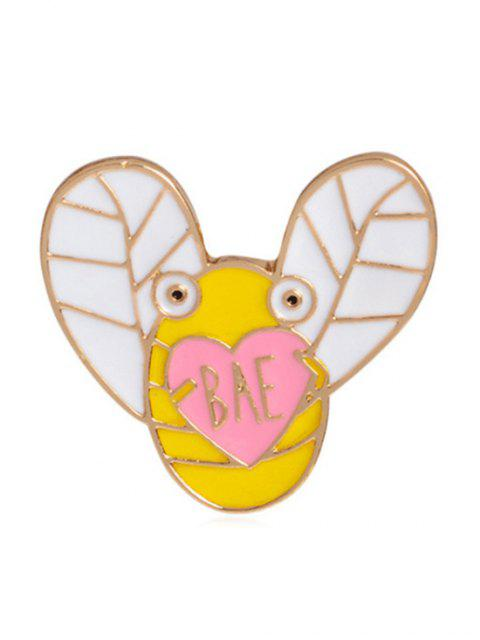 trendy Cartoon Butterfly Parrot Design Brooches - MULTI-D  Mobile