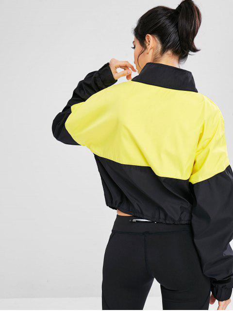 Colour Block-Pullover mit Reißverschluss - Multi S Mobile