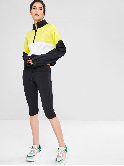 Colour Block-Pullover mit Reißverschluss - Multi L Mobile
