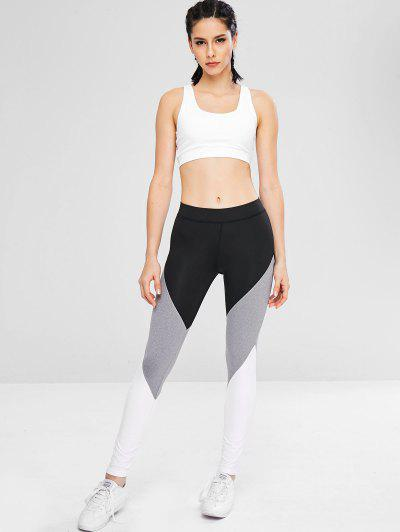 81d739aa129bfb Athletic Color Block Gym Sport Leggings, Black - zaful.com - imall.com