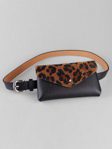 فريد ليوبارد مضحك حقيبة مزين الخصر حزام حقيبة - الجمل الجمل