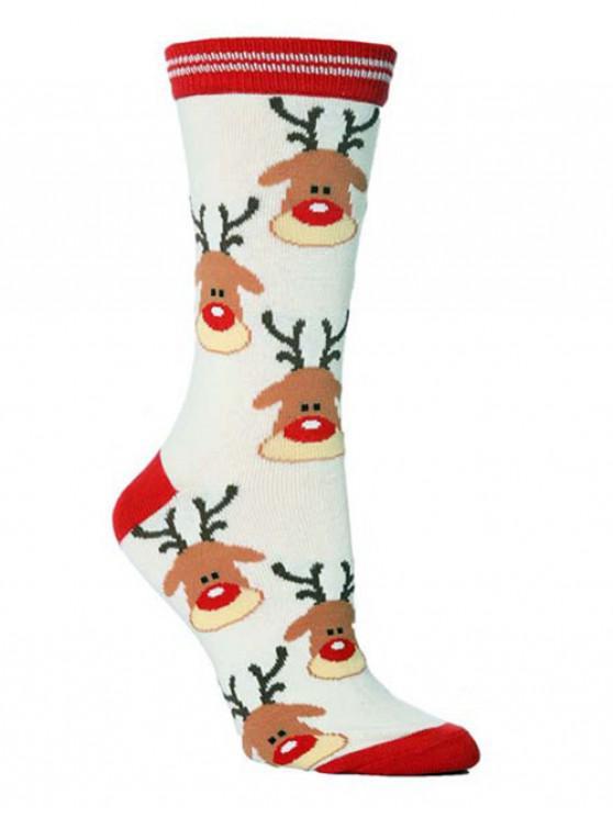 Christmas Party Novelty Crew Socks - متعددة-B