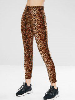 Hohe Gymnastikgamaschen Für Leoparden - Leopard L