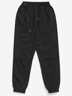 Solid Beam Feet Cargo Pants - Black 2xl