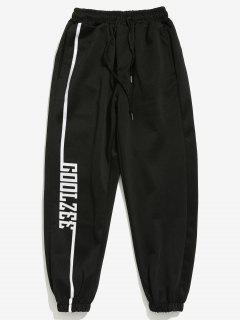 Pantalon De Jogging Lettre Imprimée - Blanc M