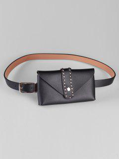 Removable Fanny Pack Waist Belt Bag - Black