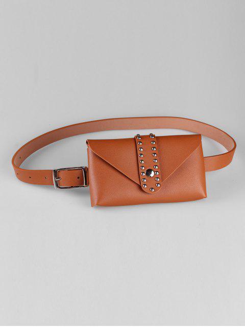 buy Removable Fanny Pack Waist Belt Bag - CAMEL BROWN  Mobile