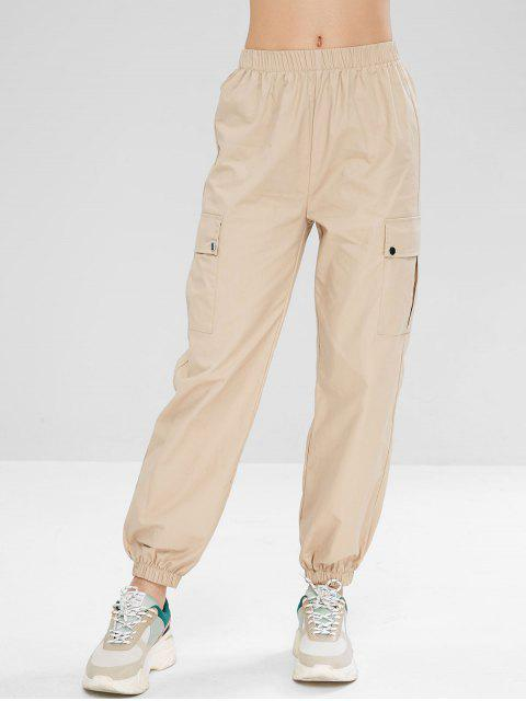 Pantalones deportivos de carga - Caqui Claro S Mobile