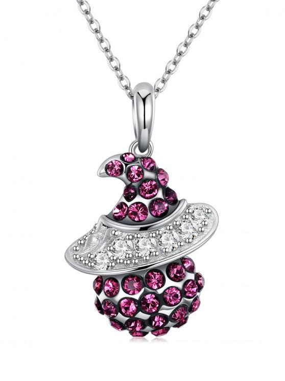 best Sterling Silver Chain Pendant Necklace - MAROON