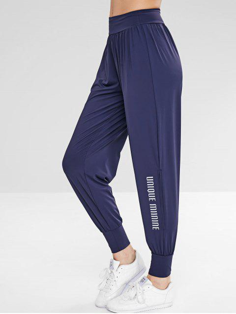 Sport Athletic Gym Jogger pantalones - Azul Profundo L Mobile