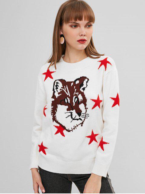 Star Fox Jumper Pull - Blanc Taille Unique Mobile