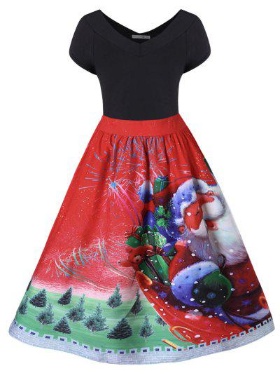 Plus Size Christmas Dress