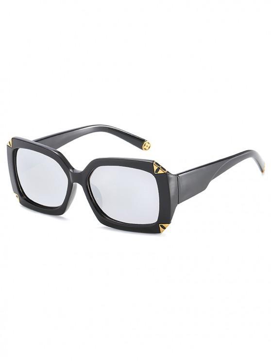 NEW] 2018 Retro Thick Frame Sun Shades Sunglasses In SILVER | ZAFUL