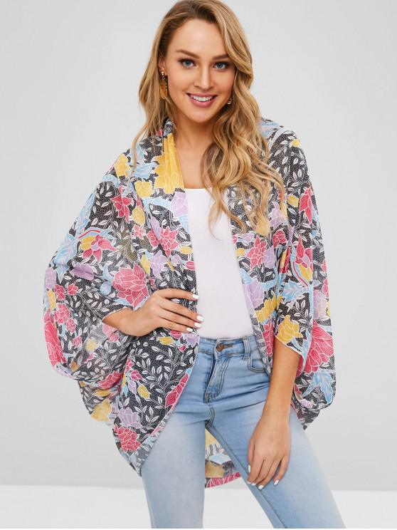 unique Printed Cover Up - MULTI-A ONE SIZE