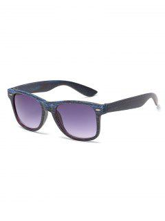 Vintage Rivets Inlaid Driving Sunglasses - Navy Blue