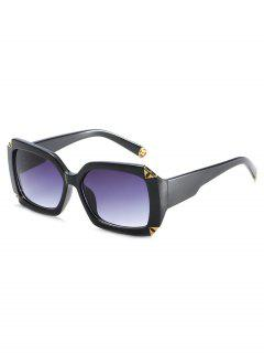 Retro Thick Frame Sun Shades Sunglasses - Black