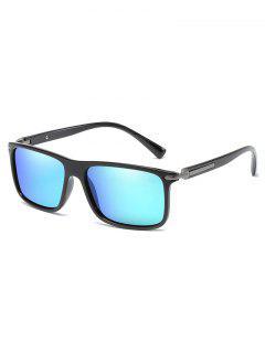Anti UV Flat Lens Driving Sunglasses - Dodger Blue
