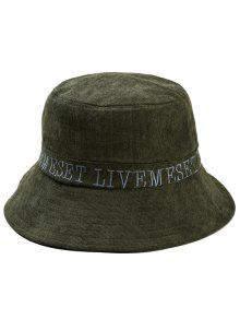 كابيتال حرف التطريز دلو الشمس القبعة - الجيش الأخضر