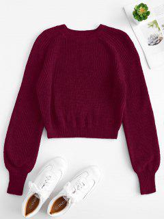 Sweater Mit Raglanärmeln - Schamotte S