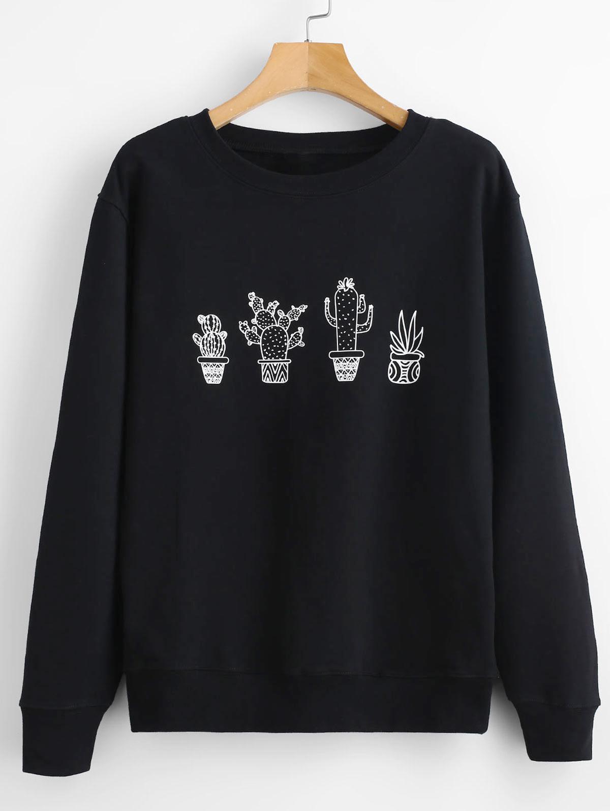 Cactus Graphic Sweatshirt thumbnail