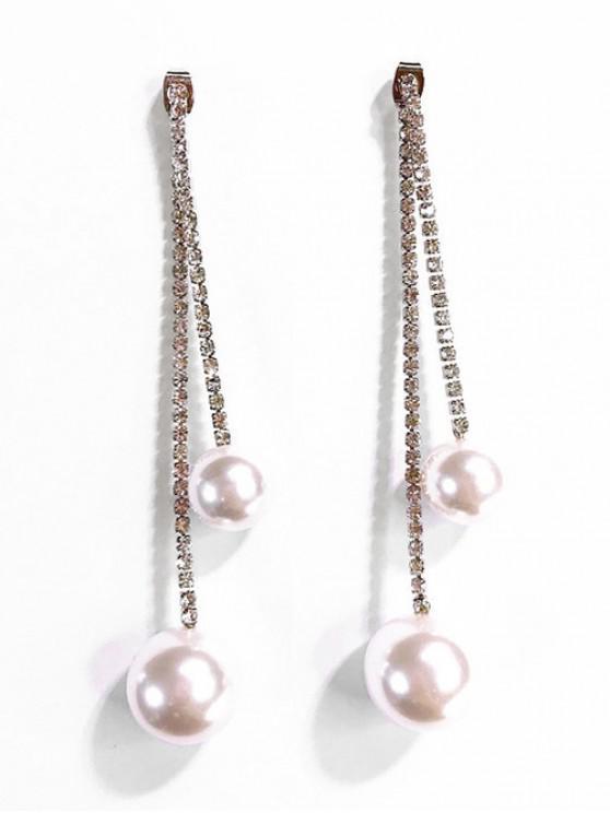 Pendientes de perla de decoración de perlas artificiales - Oro