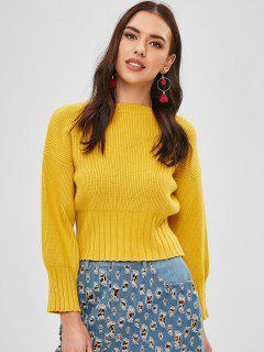 Jersey De Cuello Redondo - Amarillo De Sol
