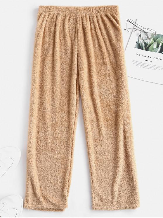 بنطلون من فرو Fur Cpari - بلانشيد اللوز S