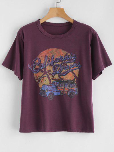 Retro Car Graphic Tee