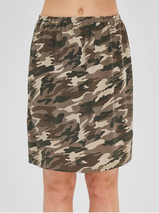 best Straight Camo Skirt - ACU CAMOUFLAGE S