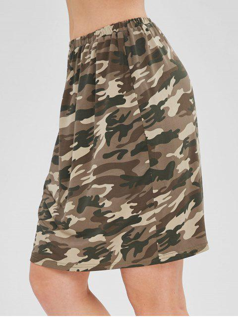 Jupe Droite Camouflage - ACU Camouflage M Mobile