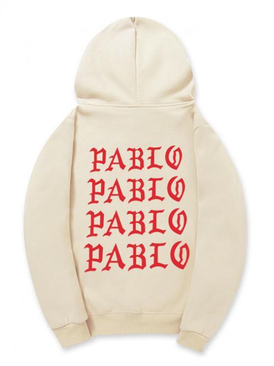 Sudadera con capucha - Caqui Claro M