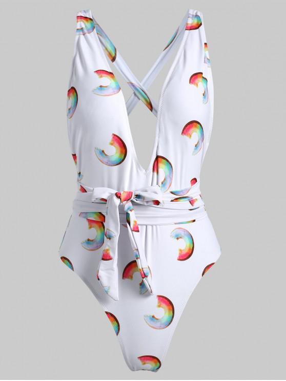 Costume Da Bagno Con Stampa Ciambella - Bianca M