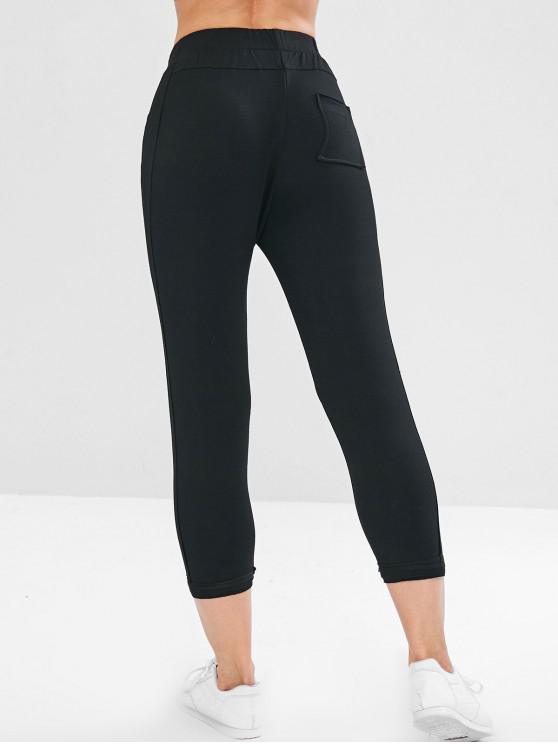 Jogging Pantalon De SportifNoir L Court WD2EIH9