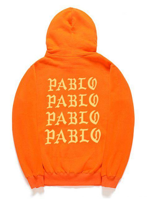 Sudadera con capucha - Naranja de Calabaza  M Mobile