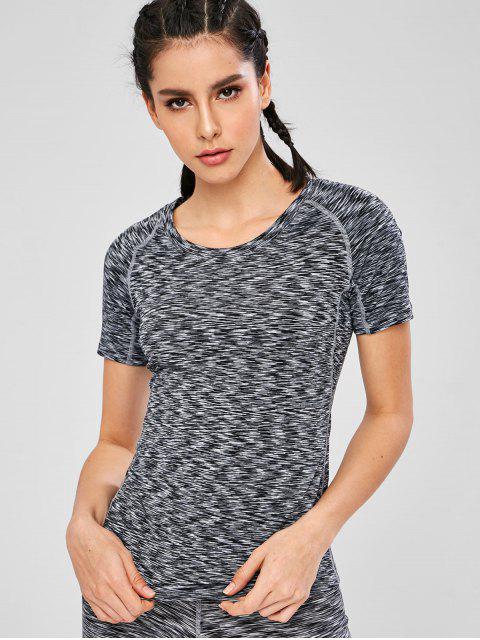 shop Space Dye Gym T-Shirt - MULTI L Mobile