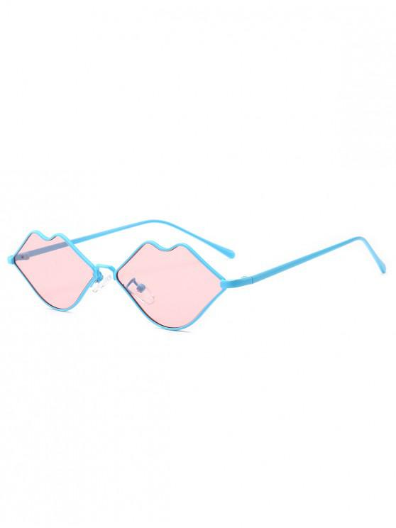 shop Stylish Sexy Lip Frame Novelty Sunglasses - PINK