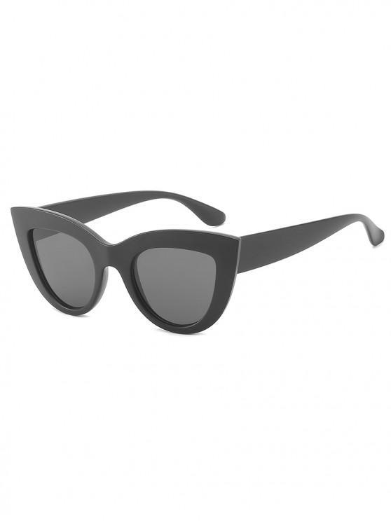 best UV Protection Full Frame Catty Sunglasses - BLACK
