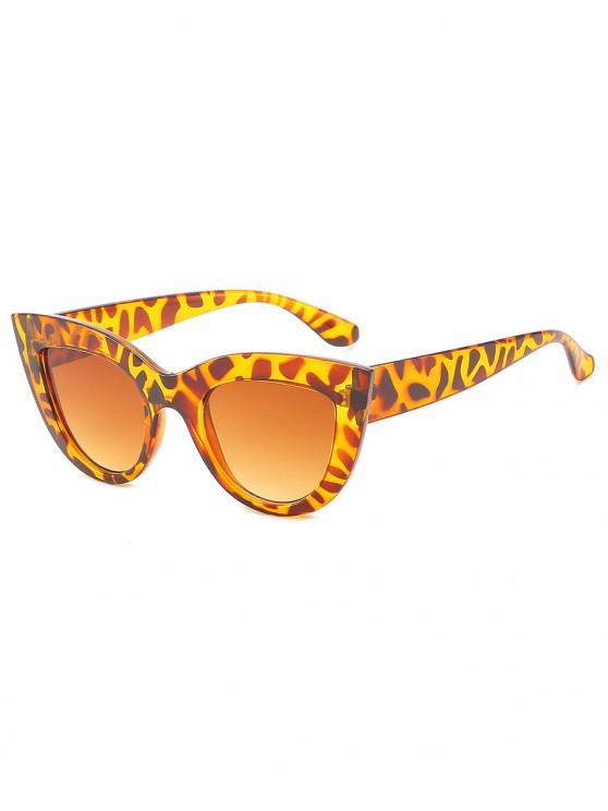 new UV Protection Full Frame Catty Sunglasses - LEOPARD