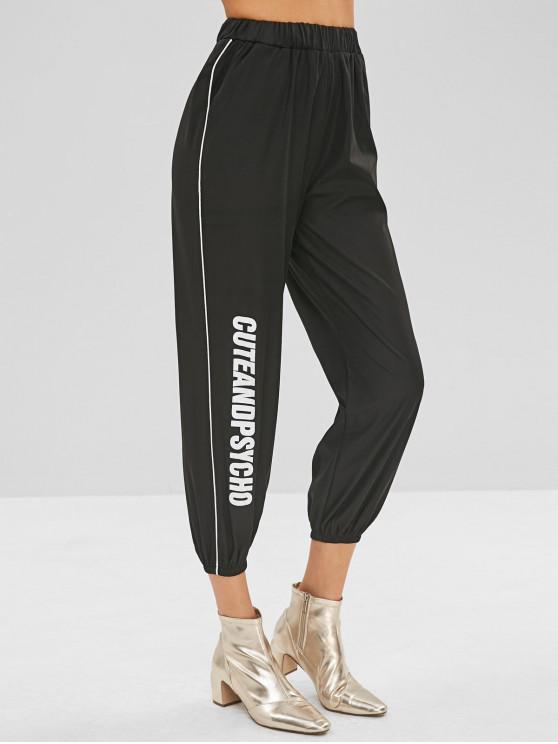Pantalon de Jogging Cuteandpsycho Graphique - Noir M