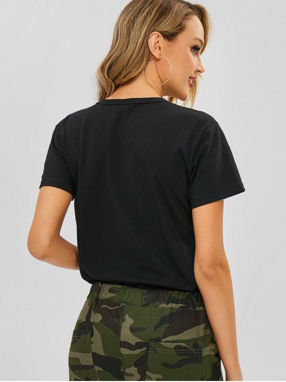 EtoileNoir Avec Xl shirt Amour I Graphique Fou T Yymf7Ivb6g