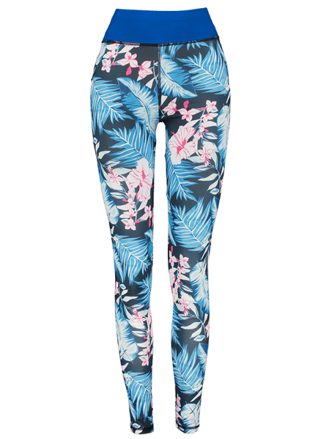 shops Floral Layering Leggings - MULTI-A S Mobile