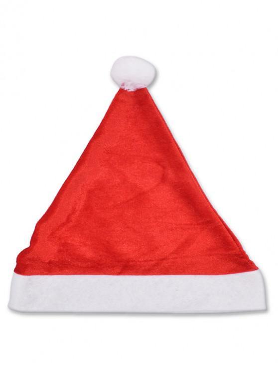 Chapeau de Noël de Soirée Décoration - Rouge Lave