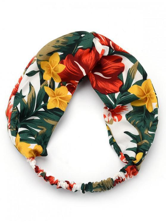 lady Fresh Floral Elastic Headband - MULTI