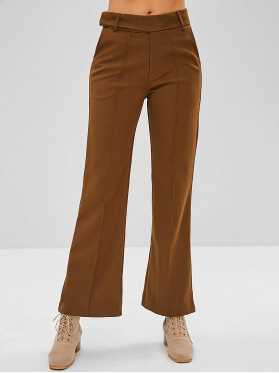 outfit Thick Wide Leg Pants - WOOD L